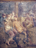 Italy, Naples, Naples Museum, from Pompeii, House of L. Cornelius (VII 12, 26), Sale of Cupid Photographic Print by Samuel Magal