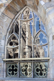 Italy, Milan, Milan Cathedral, Windows Photographic Print by Samuel Magal