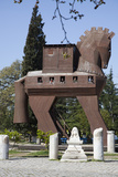 Turkey, Troy, Trojan Horse Photographic Print by Samuel Magal