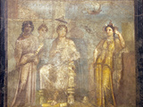Italy, Naples, Naples Museum, from Pompeii, House of Meleager (VI 9, 2.13), Dido Abandoned Photographic Print by Samuel Magal