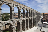 Spain, Segovia, Aqueduct Photographic Print by Samuel Magal