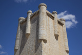 Spain, Castile and Leon, Torrelobaton, Torrelobaton Castle, Tower with Inner Stairs Photographic Print by Samuel Magal