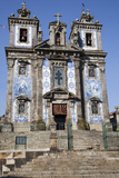 Portugal, Porto, The Church of Saint IIdefonso, West Facade Photographic Print by Samuel Magal