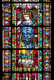 France, Alsace, Strasbourg, Strasbourg Cathedral, Stained Glass Window, Maximinus Thrax Photographic Print by Samuel Magal