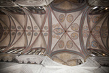 England, Salisbury, Salisbury Cathedral, Choir and Trinity Chapel, Quadribbed Vaulted Ceiling Photographic Print by Samuel Magal