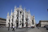 Italy, Milan, Milan Cathedral, Facade Photographic Print by Samuel Magal