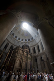 Israel, Jerusalem, Church of the Holy Sepulchre Photographic Print