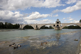 France, Avignon, Pont St Benezet Photographic Print