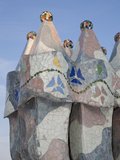 Spain, Barcelona, Casa Batllo by Antonio Gaudi Photographic Print