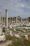 Turkey, Side, Agora, Colonnade Courtyard Photographic Print by Samuel Magal