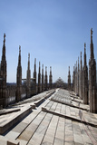 Italy, Milan, Milan Cathedral, Roof Walk Photographic Print by Samuel Magal