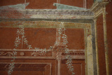 Italy, Naples National Archeological Museum, from Pompeii, Isis Temple, Third Style Decoration Photographic Print by Samuel Magal