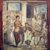 Italy, Naples, Naples Museum, The Centaur at the Wedding of Pirithous and Hippodamia Photographic Print by Samuel Magal