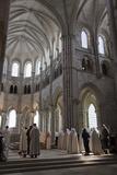 France, Burgundy, Vezelay Abbey, Choir Photographic Print by Samuel Magal