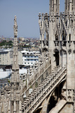 Italy, Milan, Milan Cathedral, Flying Buttresses Photographic Print by Samuel Magal