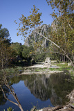 Turkey, Olympus, View of Ruins in the River Photographic Print by Samuel Magal