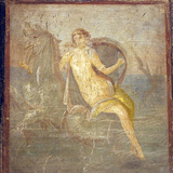 Italy, Naples, Naples Museum, from Pompeii, House of Meleager (VI 9, 2.13), Teti Photographic Print by Samuel Magal