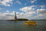 USA, New York, Liberty Island, Statue of Liberty Photographic Print by Samuel Magal
