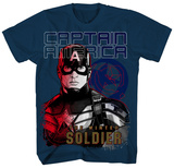 Youth: Captain America: The Winter Soldier - Closing In T-Shirt