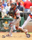 Cleveland Indians Yan Gomes 2013 Action Photo