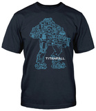 Titanfall - Atlas Outline T-Shirts