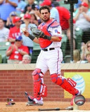 Texas Rangers Geovany Soto 2013 Action Photo