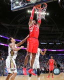 Houston Rockets Dwight Howard 2013-14 Action Photo