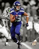 Seattle Seahawks Doug Baldwin 2013 Spotlight Action Photo