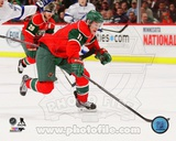 Minnesota Wild Zach Parise 2013-14 Action Photo