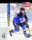 St Louis Blues David Backes - USA Portrait Plus Photo