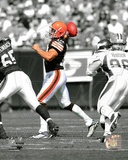Cleveland Browns Brady Quinn 2009 Spotlight Action Photo