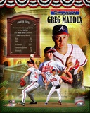 Greg Maddux Atlanta Braves MLB Hall of Fame Legends Composite Photo