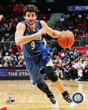 Minnesota Timberwolves Ricky Rubio 2013-14 Action Photo