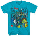 The Lego Movie - Block Blokes T-Shirt