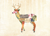 Woodland Creature: Deer Poster Posters by  Satchel & Sage