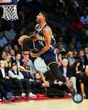 Indiana Pacers Paul George Slam Dunk Contest 2014 NBA All-Star Game Action Photo