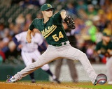 Oakland Athletics Sonny Gray 2013 Action Photo