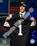 Cleveland Browns Brady Quinn - 2007 NFL Draft Day Photo