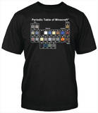 Youth: Minecraft - Periodic Table T-shirts