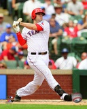 Texas Rangers Mitch Moreland 2013 Action Photo
