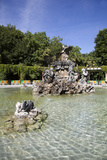 Spain, Valladolid, Botanic Gardens, Fountain Photographic Print by Samuel Magal