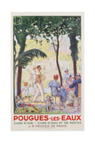 Pougues-Les-Eaux Poster Giclee Print by F. Jonas