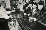 Men Drinking at Bar 1943 Poster Poster