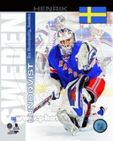 New York Rangers Henrik Lundqvist- Sweden Portrait Plus Photo