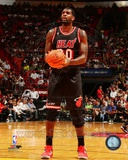 Miami Heat Greg Oden 2013-14 Action Photo