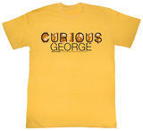 Curious George - These Letters Are Curious T-shirts