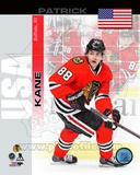 Chicago Blackhawks Patrick Kane- USA Portrait Plus Photo