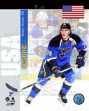 St Louis Blues T.J. Oshie - USA Portrait Plus Photo