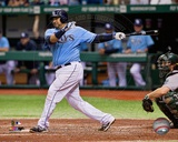 Tampa Bay Rays Jose Molina 2013 Action Photo
