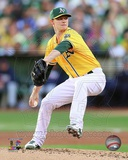 Oakland Athletics Sonny Gray Game 5 of the 2013 American League Division Series Action Photo